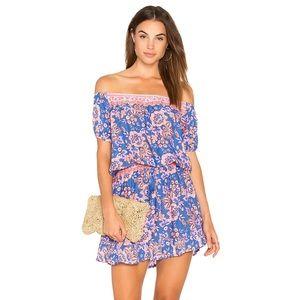 TIARE HAWAII Wonderland Dress in Folk Bright Blue